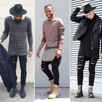 jeans maniere de voir ripped rippd