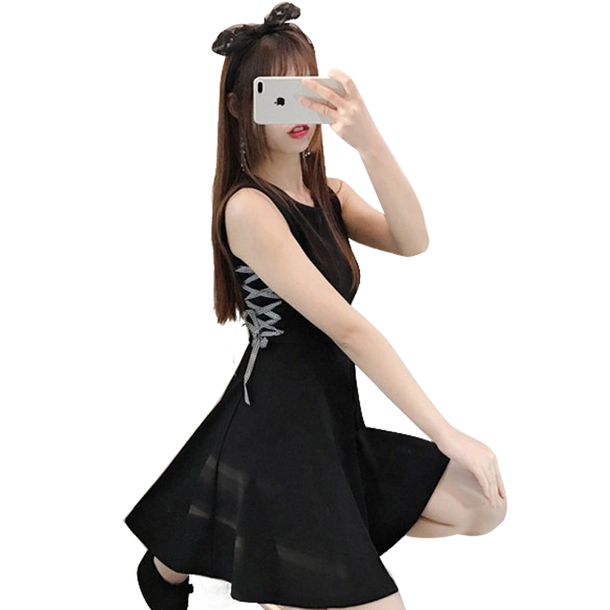 429cacea9c16 dress lolita dress lolita wig lolita dresses kawaii kawaii grunge pastel  goth black dress short black