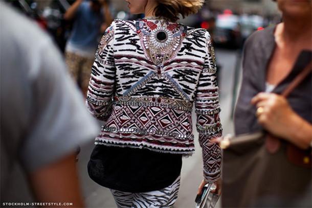 jacket embroided ethnic jacket embroided jacket ethnic boho