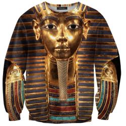 Pharaoh head print sweater – glamzelle