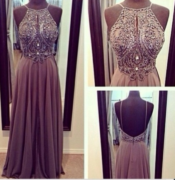 Gossip Girl Prom Dresses - Purple Graduation Dresses