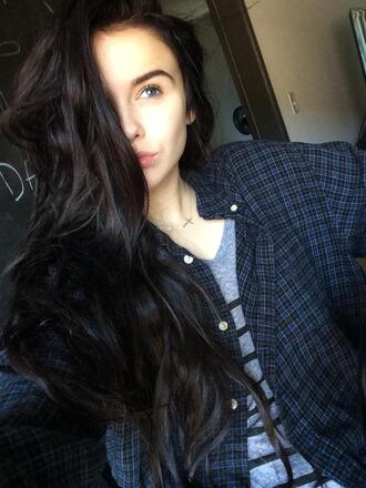 colorful plaid flannel shirt american plaid shirt plaid cropped top crop tops country acacia brinley boyish