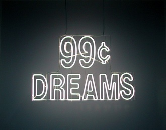 home accessory 99c dreams neon light sign light up technology tumblr dope urban neon tumblr