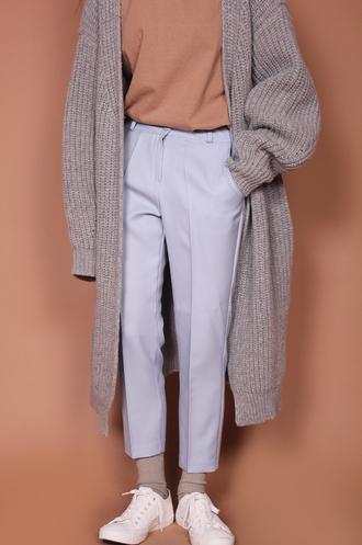 cardigan chunky knit cozy warm pants