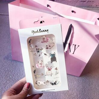 phone cover yeah bunny iphone8 iphone7 iphone6 cover dog pugs puglover frenchie