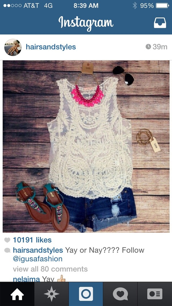 tank top tank top clothes clothes outfit lace shirts shirt summer outfits summer summer outfits