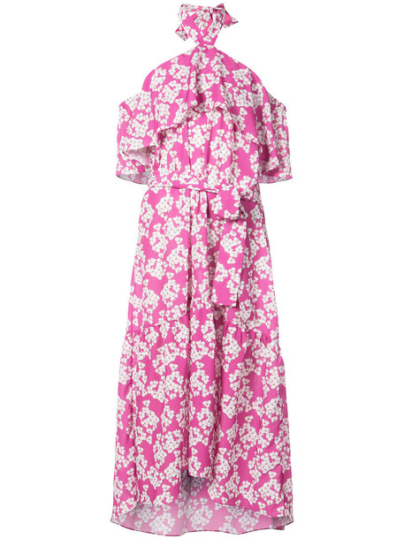 Borgo De Nor dress women purple pink