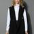 Street Style Oversize Sleeveless Blazer in Black - Retro, Indie and Unique Fashion