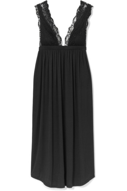 lace black underwear