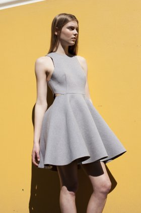Skater Skirt Dress by AD by Haryono Setiadi | The Grand Social
