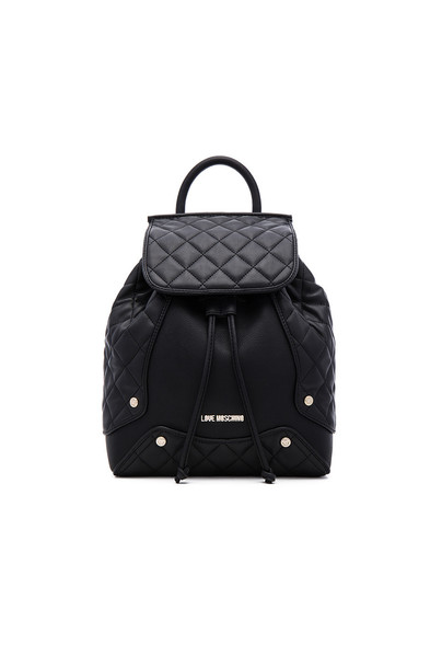 LOVE MOSCHINO fashion quilted backpack black