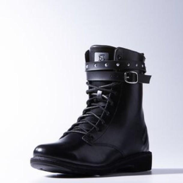 d3ec77aa159337 black combat bots selena gomez adidas neo selena gomez black combat boots  adidas neo