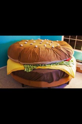 swimwear bedding pajamas hamburger yellow green accessories night sleeping with sirens make-up romper home accessory