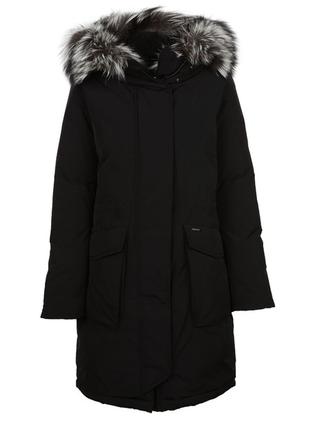 parka black coat