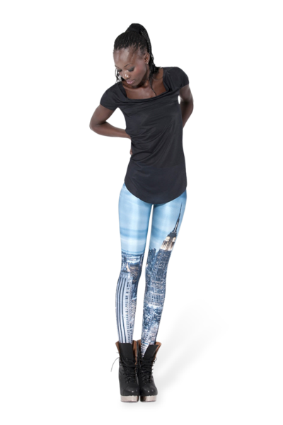 New york skyeline leggings (made to order)