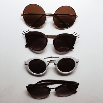 sunglasses fashion beautiful gold girly girl girly wishlist style scrapbook style pop art pop punk instagram tumblr accessories accessory sunnies mirrored sunglasses dress off the shoulder dress ruffle dress black dress