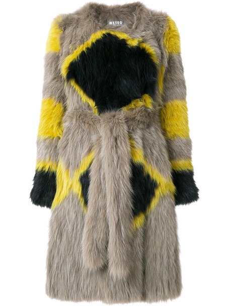 Meteo by Yves Salomon coat fur fox women