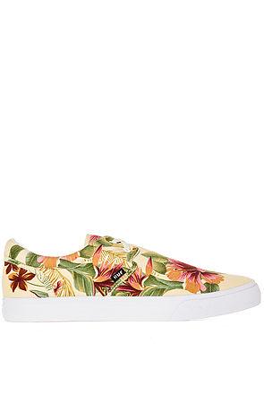HUF Sneaker The Genuine in Ivory Floral Multi -  Karmaloop.com