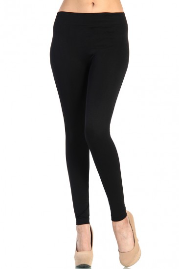 LoveMelrose.com From Harry & Molly | Winter Extra Thick Leggings - Black