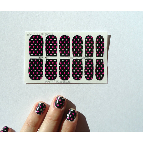 nail accessories nails nail art manicure pedicure polka dots