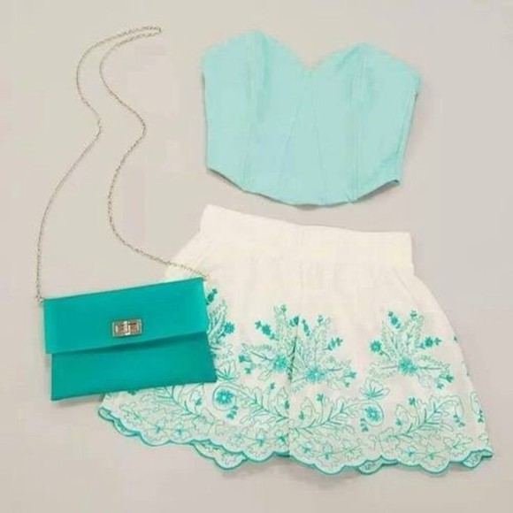 shorts tank top bag