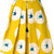 Eggs - floral print skirt - women - Cotton/Acetate/Viscose - 44, Yellow/Orange, Cotton/Acetate/Viscose