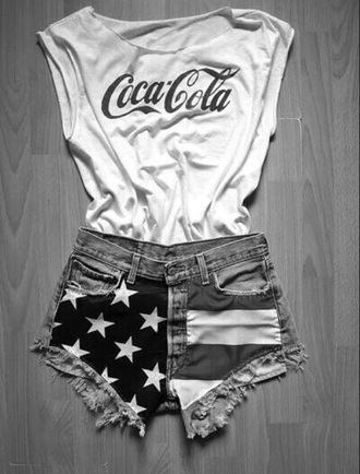 shorts america red white blue american american flag shorts