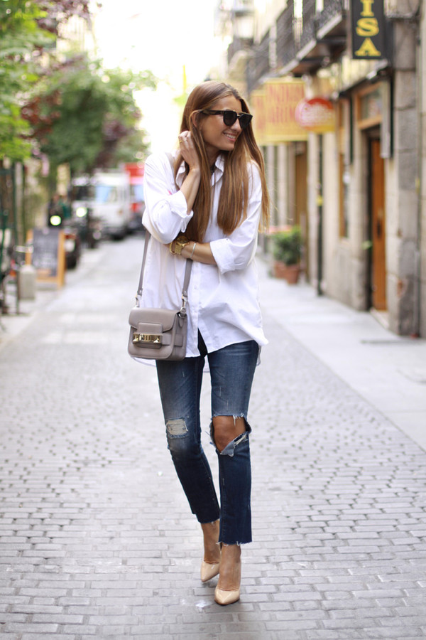 b a r t a b a c shirt jeans shoes bag sunglasses jewels