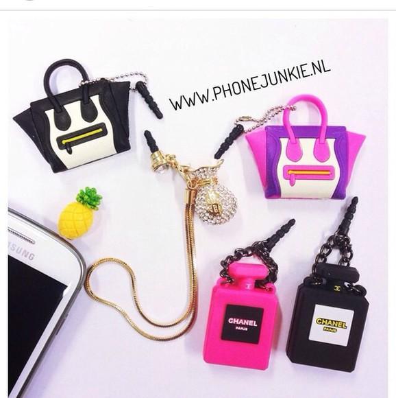 phone hair accessories pineapple print