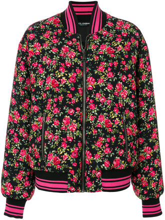 jacket bomber jacket women floral purple pink