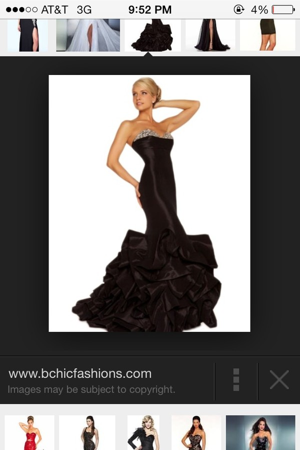 dress long black dress prom dress