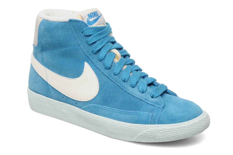 7ef48b0bcc1 Wmns Blazer Mid Suede Vintage Nike (Bleu) : livraison gratuite de vos  Baskets mode Wmns Blazer Mid Suede Vintage Nike chez Sarenza