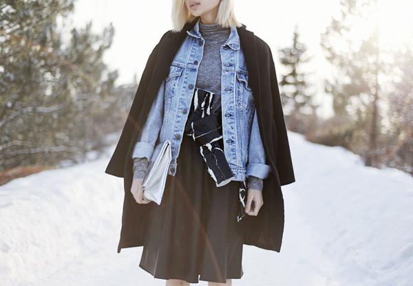 ordinary people jewels skirt jacket shoes