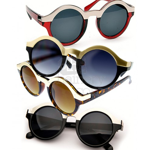 Well rounded sunglasses