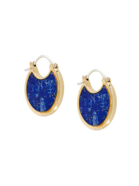Pamela Love women earrings grey metallic jewels