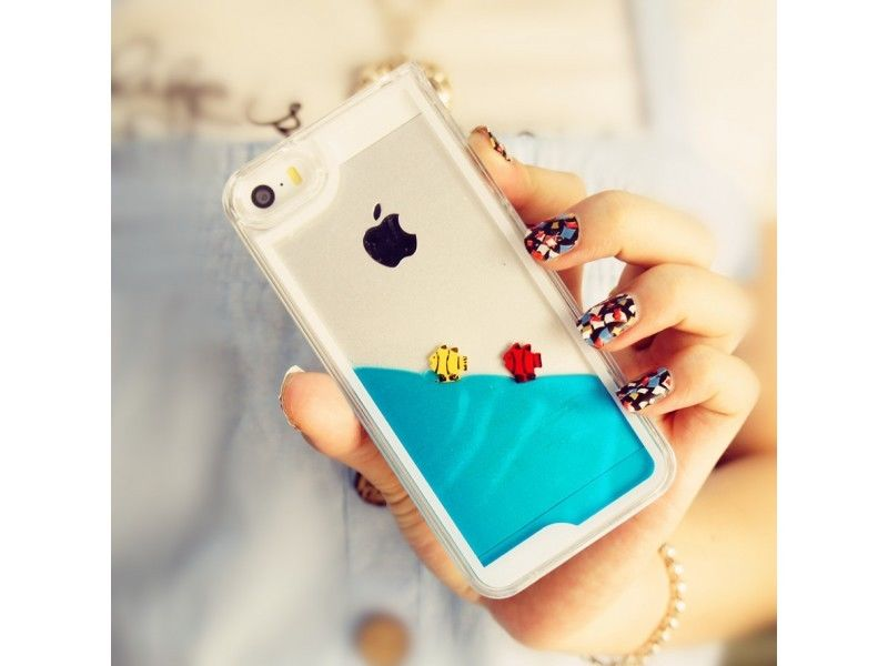 **COOL** My Personal Fish Tank iPhone 5/5s Case - Baby Blue
