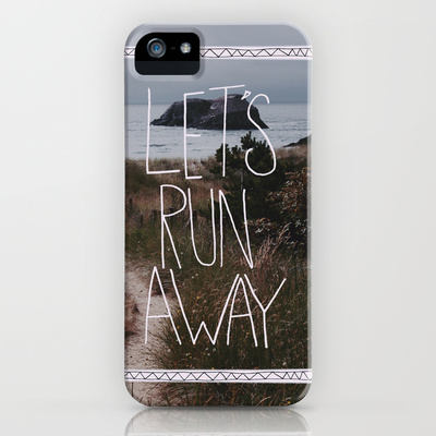 Let's Run Away: Cannon Beach, Oregon iPhone & iPod Case by Leah Flores | Society6