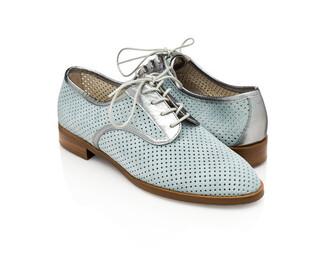 shoes light blue pastel shoes derbies
