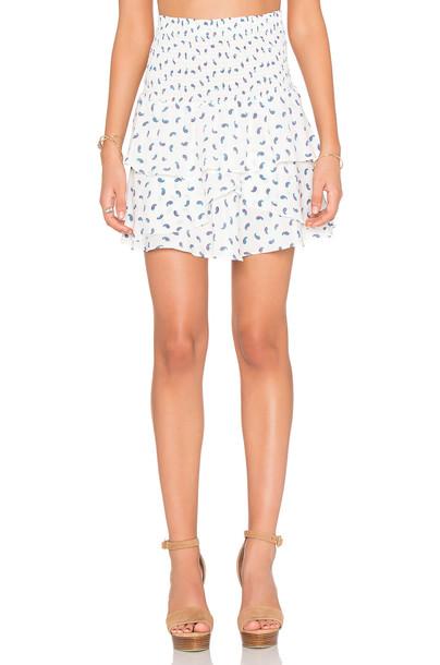 AMOUR VERT skirt white