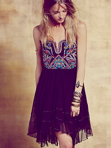 Free People  Festival Bodice Mini at Free People Clothing Boutique