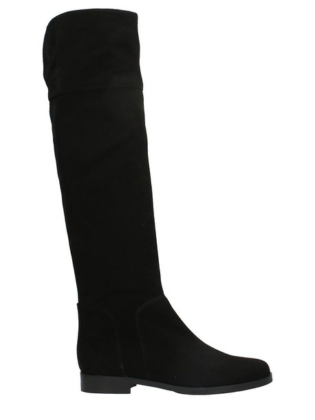 Julie Dee suede boots suede black shoes