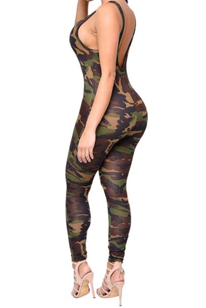 9815be18982 Jumpsuit camo catsuit wheretoget jpg 407x610 Camo catsuit