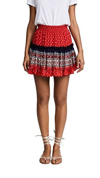 MISA skirt red