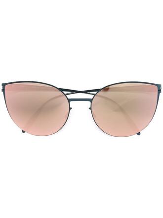 women sunglasses blue