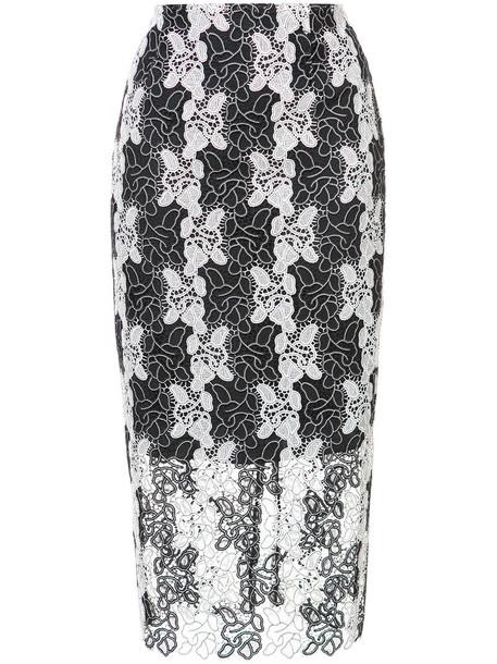 Dvf Diane Von Furstenberg skirt pencil skirt women black