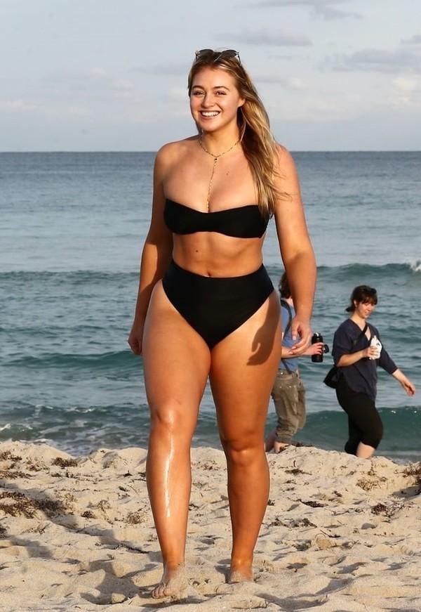 bc95e33a62 swimwear iskra lawrence plus size plus size swimwear black bikini top bikini  bottoms bikini beach