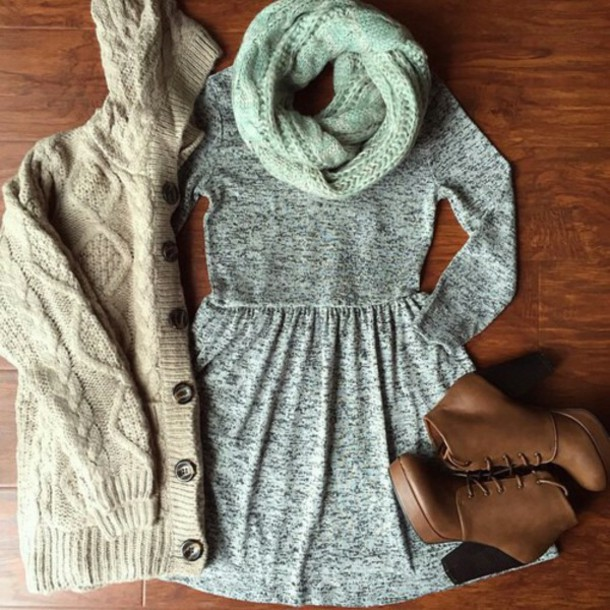 dress scarf shoes long sleeve dress winter dress grey boots brown booties booties platform boots grey dress sweater high heels ankle boots brown leather boots knitwear knitted sweater