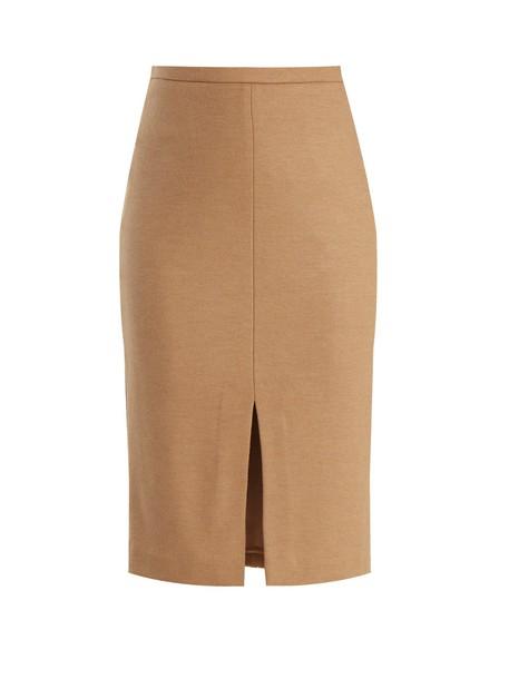 skirt camel