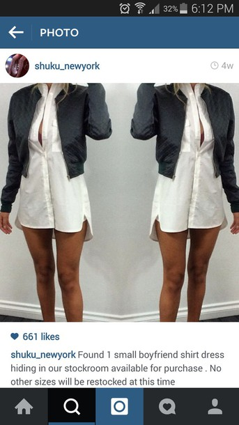 dress boyfriend shirt
