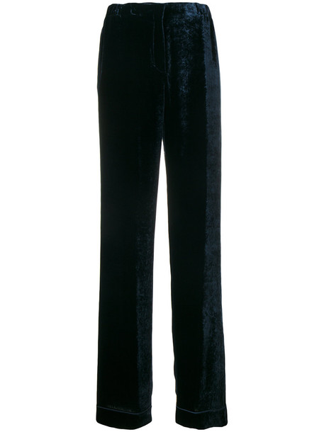 Alberta Ferretti women silk pants
